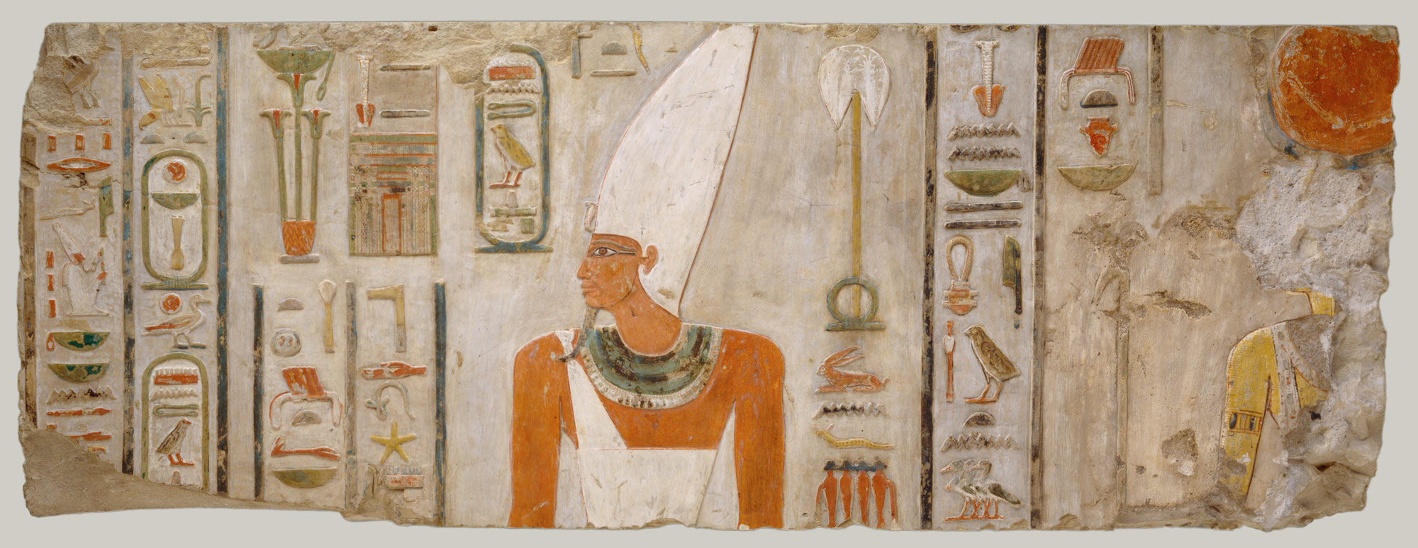 Relief of Nebhepetre Mentuhotep II and the Goddess Hathor