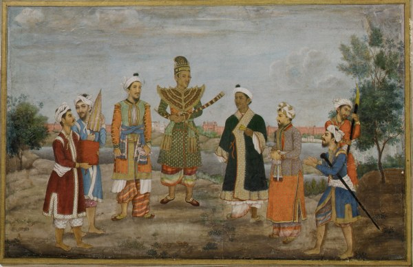 Company in India 19th Century Paintings