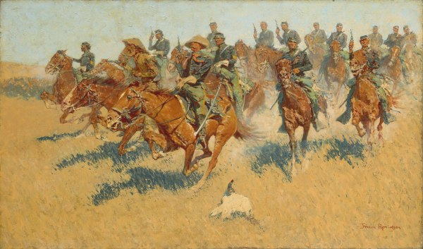 Frederic Remington Original Paintings