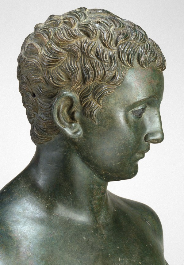 Bronze Statue Of Aristocratic Boy Work Art