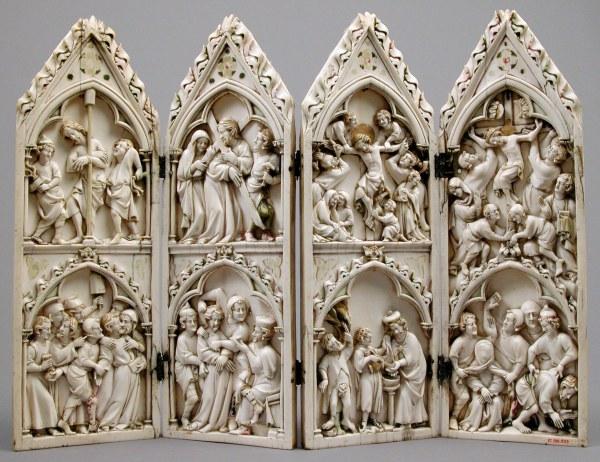 Gothic Passion of Christ Art