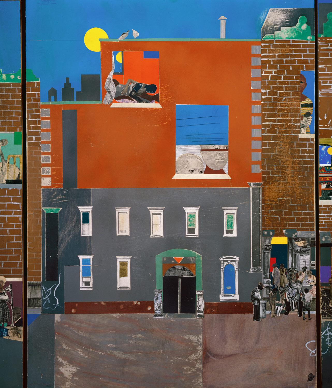 The Block Romare Bearden 1978 61 1 6 Work Of Art