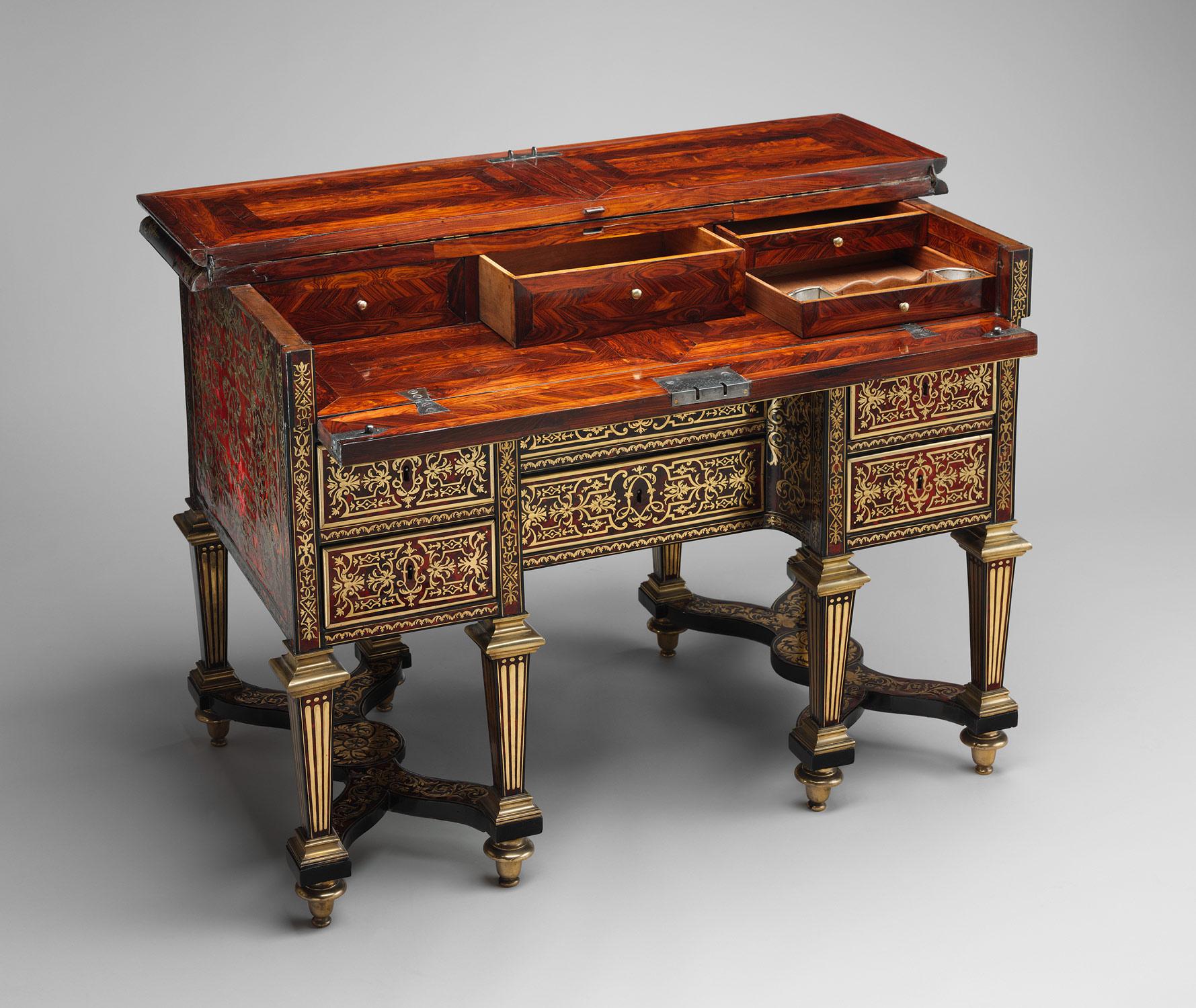 Small Desk With Folding Top Bureau Bris Alexandre