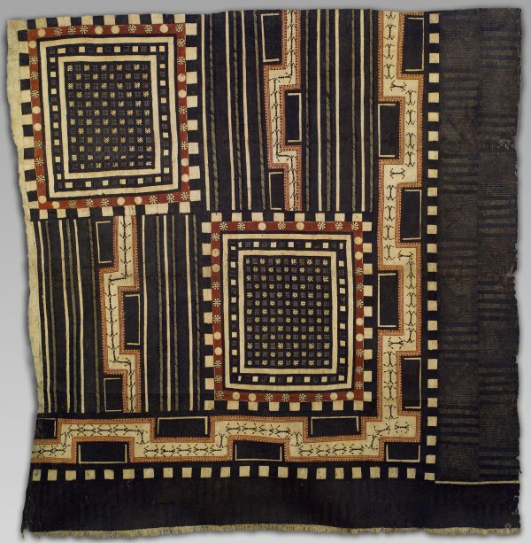 Bark Cloth Panel Masi Kesa Work Of Art Heilbrunn