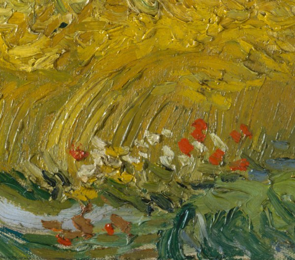 Wheat Field With Cypresses Vincent Van Gogh 1993.132