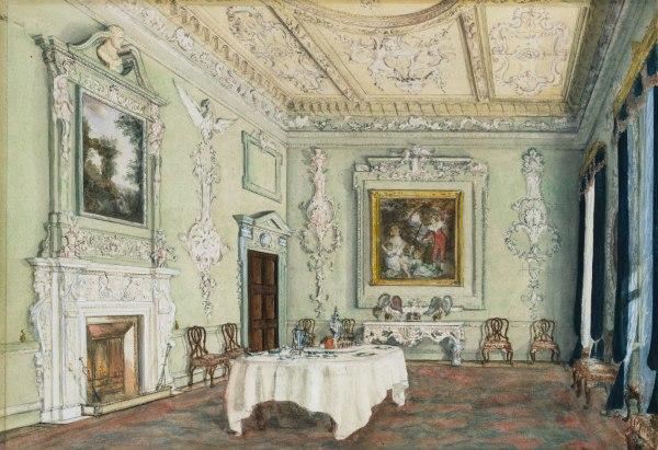Kirtlington Park Room Oxfordshire Essay Heilbrunn