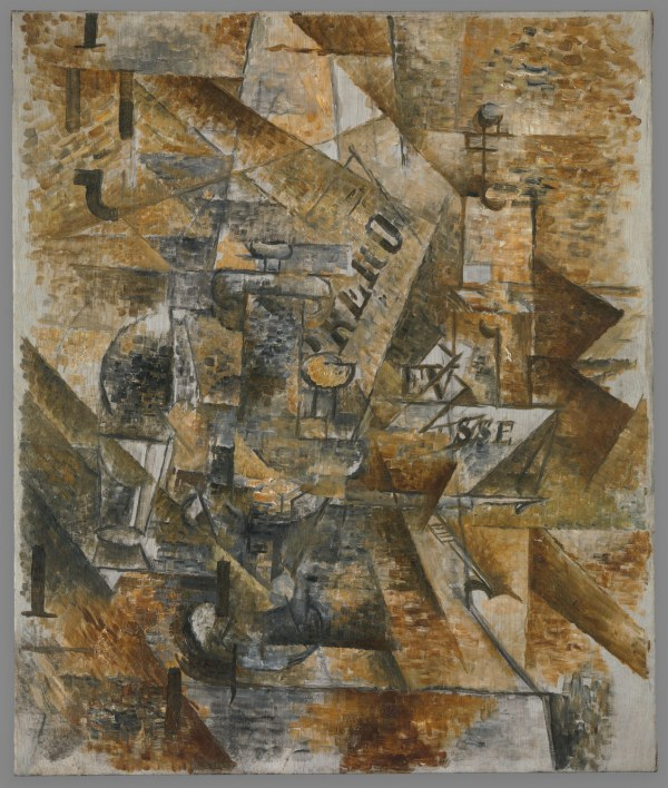 George Braque Cubism Paintings