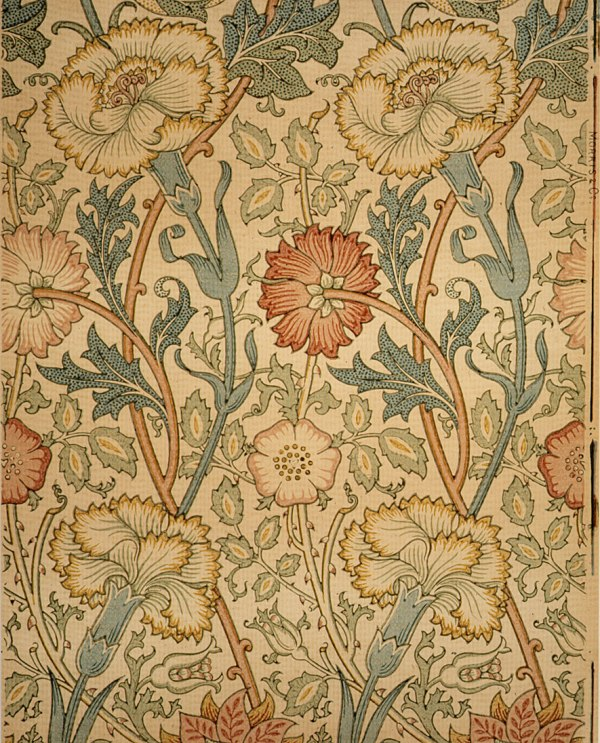 Pink And Rose William Morris 23.163.4a Work Of Art