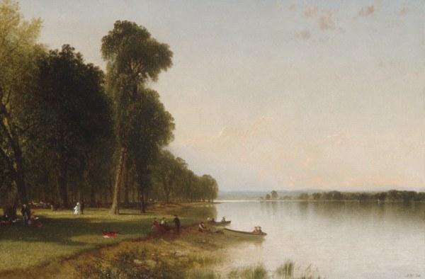 Summer Day Conesus Lake John Frederick Kensett 25