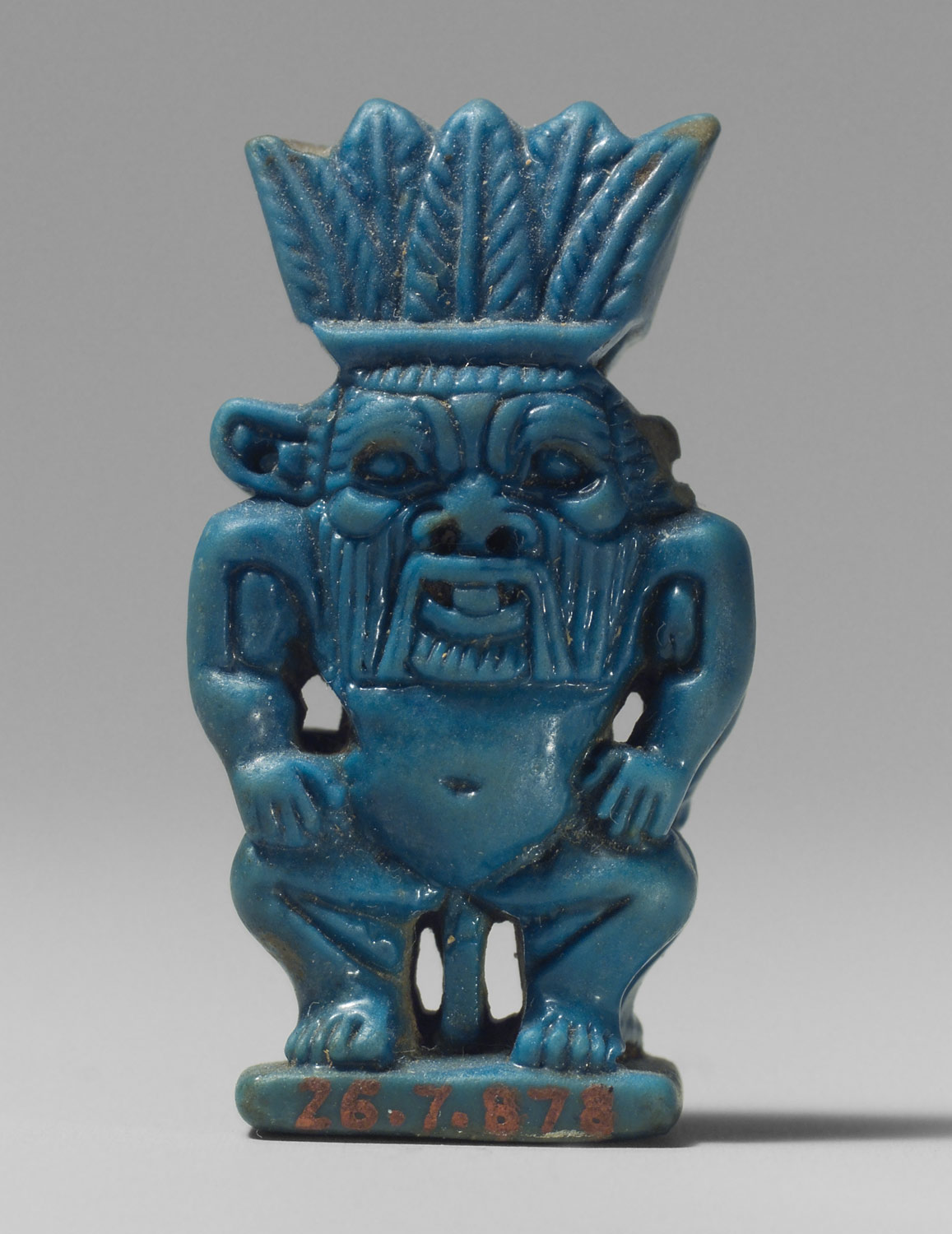 Amulet of the God Bes  Work of Art  Heilbrunn Timeline of Art History  The Metropolitan