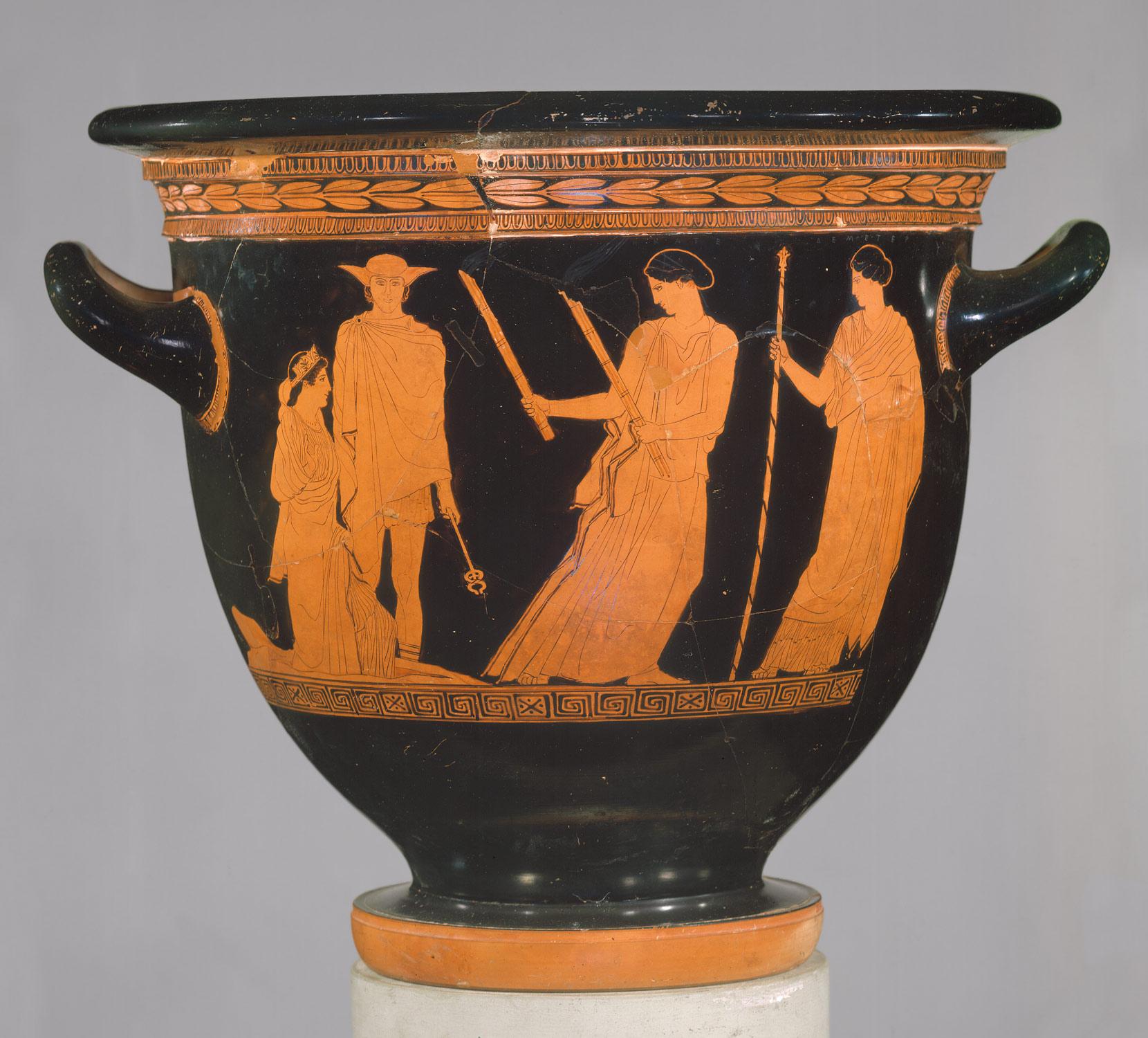 Image result for Ancient Greek ghost vase