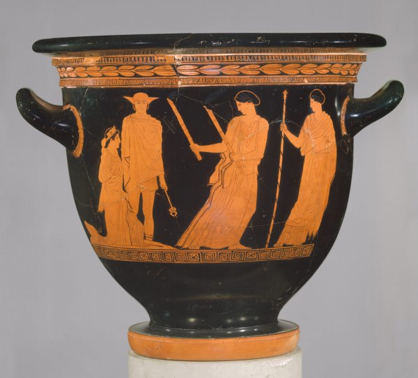 Athenian Vase Painting Black- And Red-figure Techniques