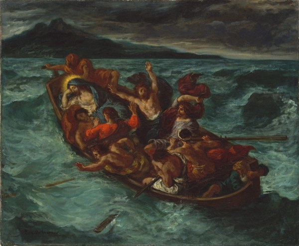 Delacroix Christ Asleep during the Tempest