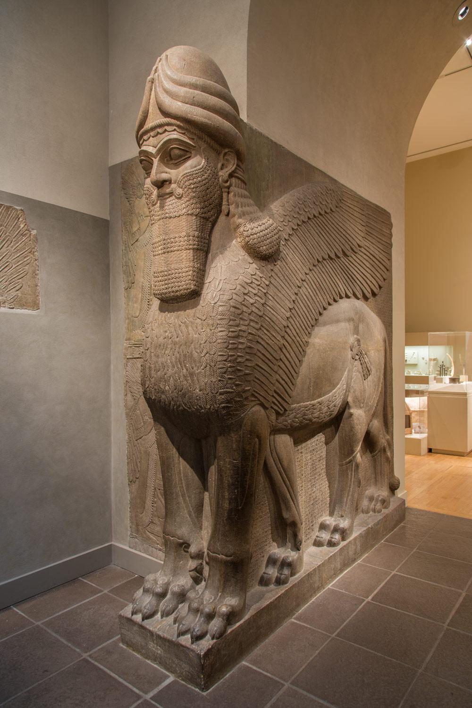 Humanheaded winged lion lamassu  Work of Art  Heilbrunn Timeline of Art History  The