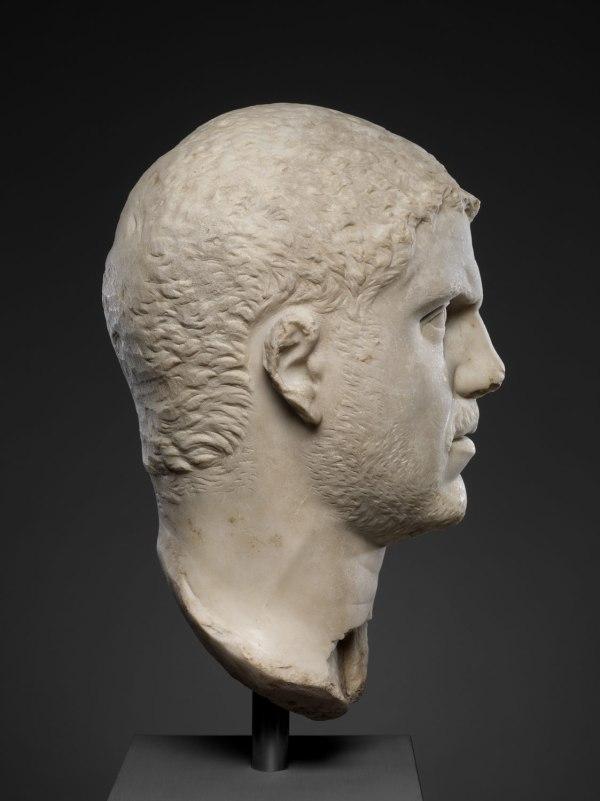 Marble Portrait Of Emperor Caracalla Work Art