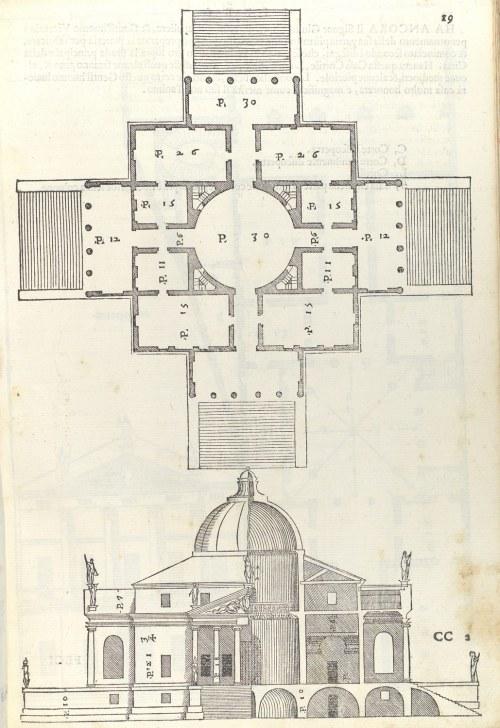 small resolution of  villa almerico villa rotonda from i quattro libri dellarchitettura book 2