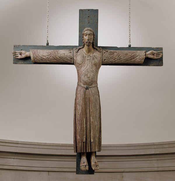 Medieval Christian Art Crucifix