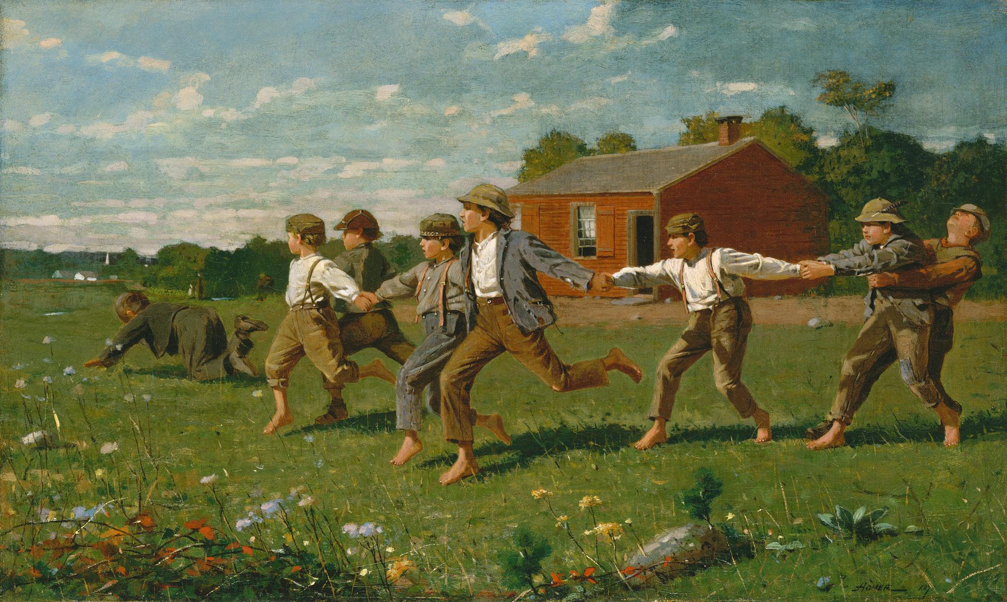 Snap the Whip | Winslow Homer | 50.41 | Work of Art | Heilbrunn Timeline of Art History | The Metropolitan Museum of Art