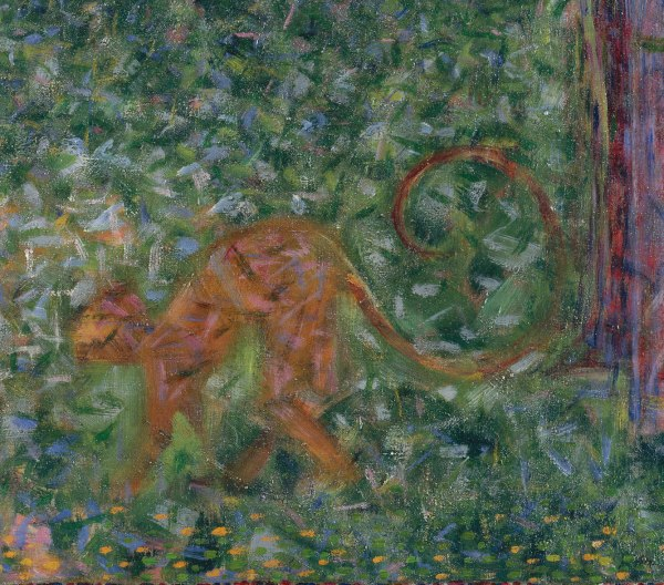 "Study "" Sunday La Grande Jatte"" Georges Seurat"