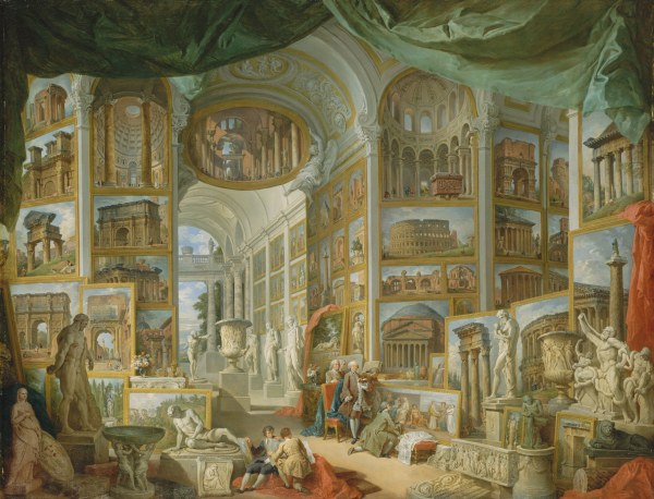 Ancient Rome Giovanni Paolo Panini 52.63.1 Work Of