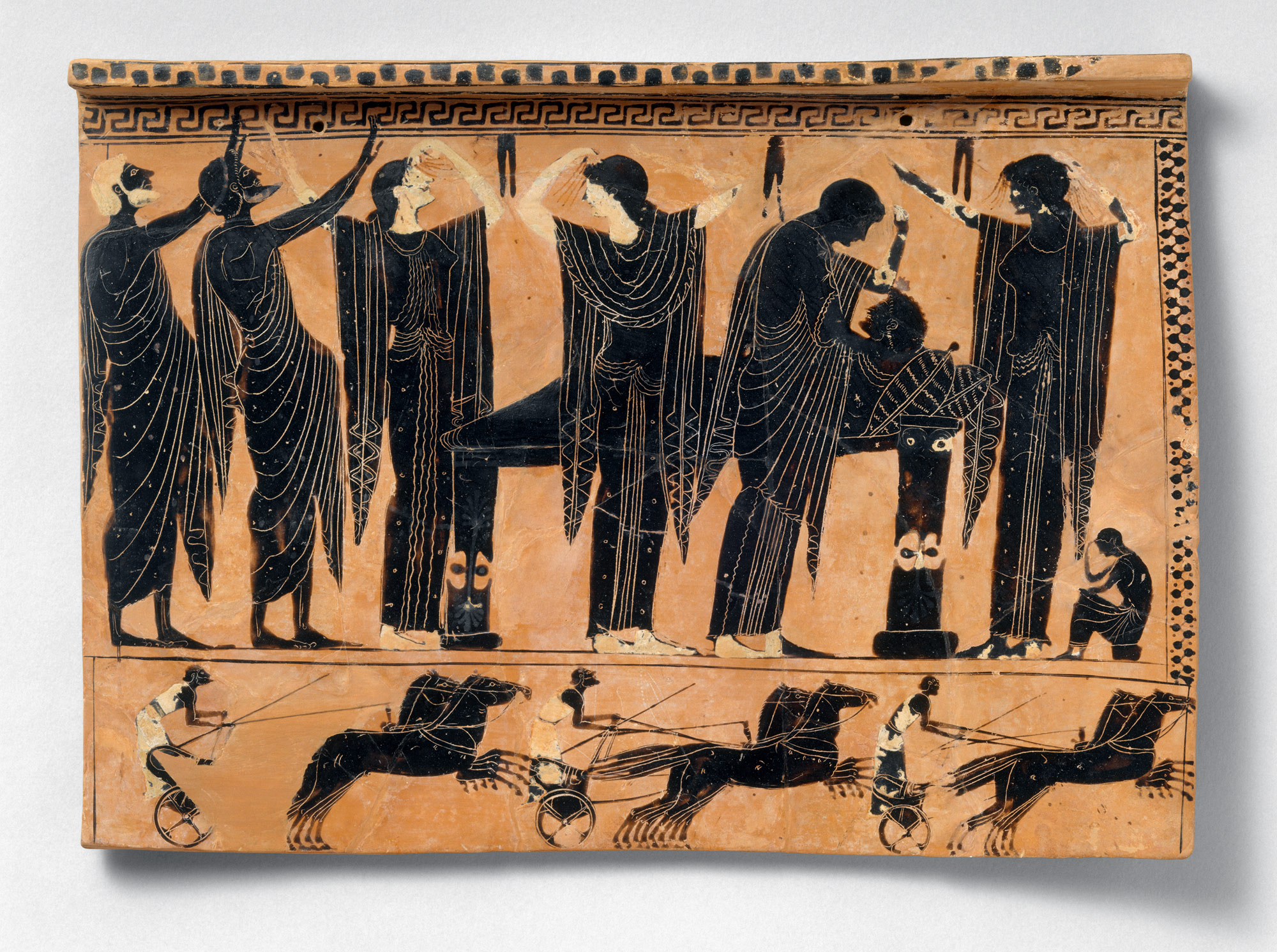 Image result for Greek mourning vase