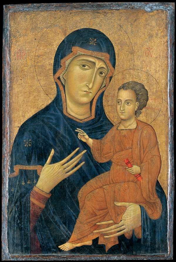 Medieval Art Madonna and Child