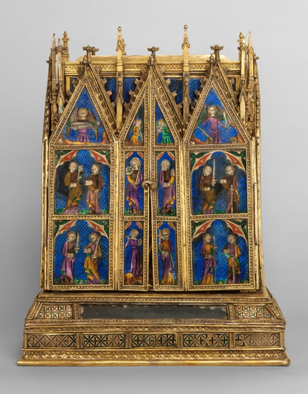 Reliquary Shrine Attributed Jean De Touyl 62.96 Work Of Art Heilbrunn Timeline