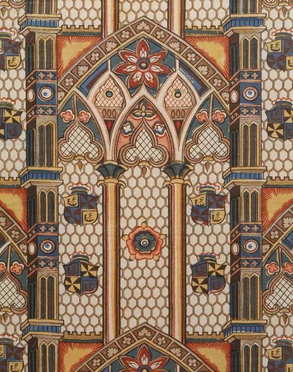 Gothic Revival Style Fabric