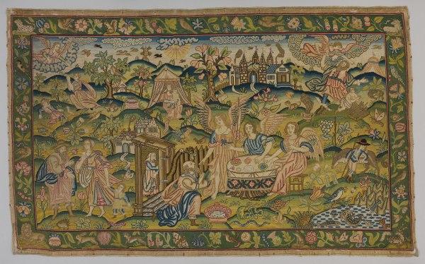 English Embroidery Of Late Tudor And Stuart Eras