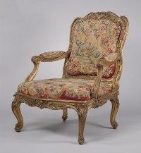 Armchair (fauteuil  la reine) (part of a set) | Nicolas ...