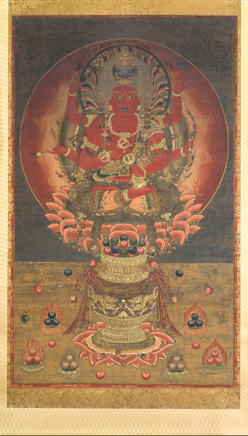 Kings Of Brightness In Japanese Esoteric Buddhist Art