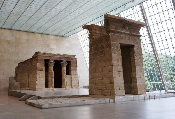 Telling Temple Tale Nile Met - York Times