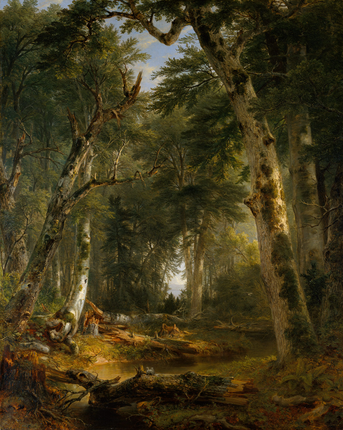 In the Woods  Asher Brown Durand  95131  Work of Art