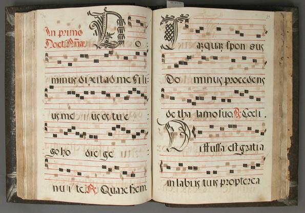 Antifonario, s. XV, del Metropolitan Museum of Art