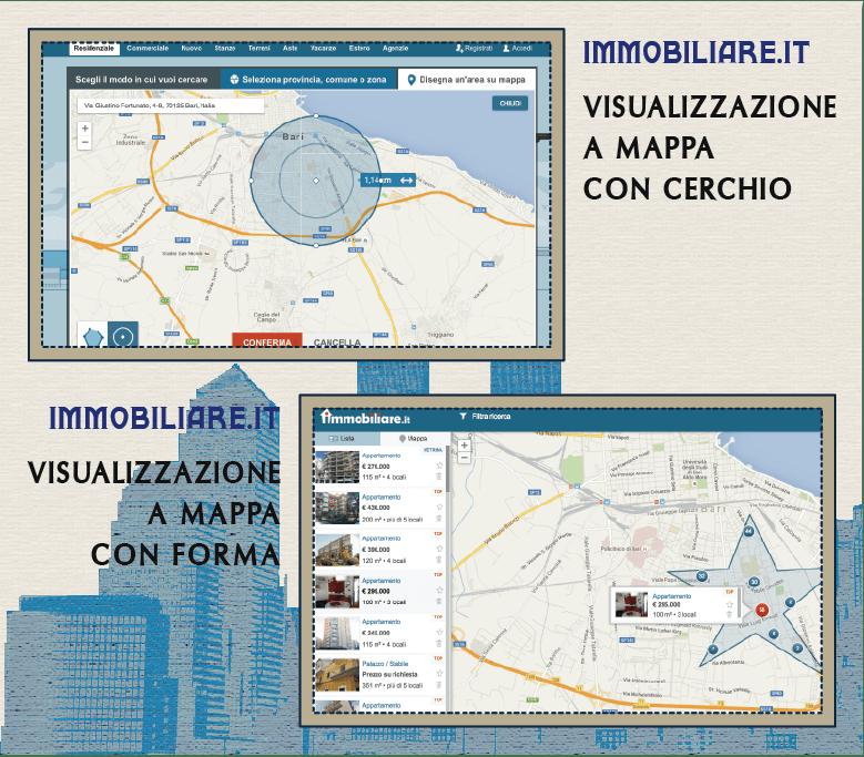 Ottimizzare l'uso delle mappe dei portali immobiliari