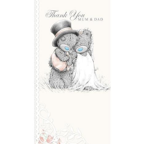 Thank You Mum and Dad Me to You Wedding Card (A01CS057