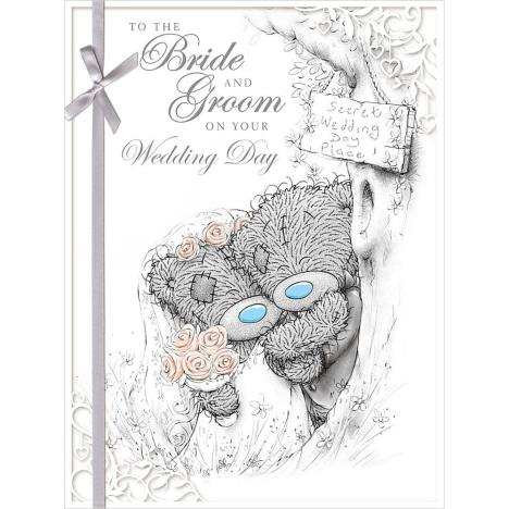 Bride & Groom Me to You Bear Large Wedding Card (A01LS133