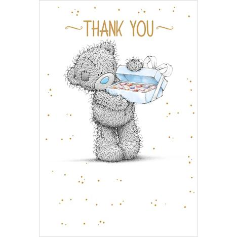 Box Of Chocolates Me to You Bear Thank You Card (A01MS341