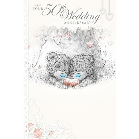 50th Wedding Anniversary Me to You Bear Card (A01MS345