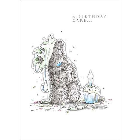 Tatty Teddy with Cake Me to You Bear Birthday Card