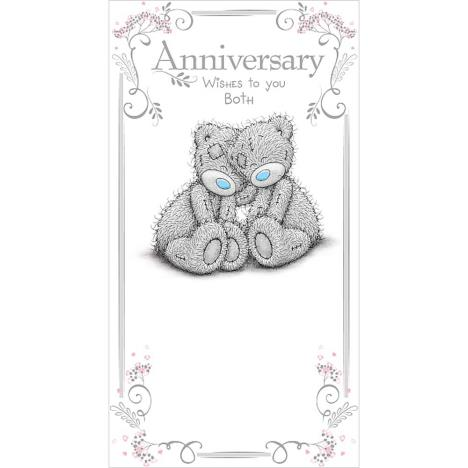 Wishes to You Both Me to You Bear Anniversary Card