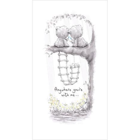 Tatty Teddy Sitting in Tree Me To You Bear Card (ASC35005