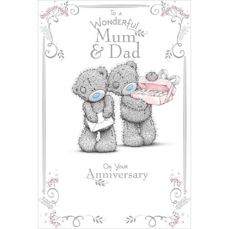 Mum & Dad Me to You Bear Anniversary Card (ASM01009) : Me