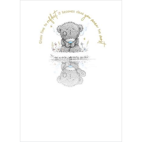 Bears Looking at Reflection Me to You Bear Card (ASS01171