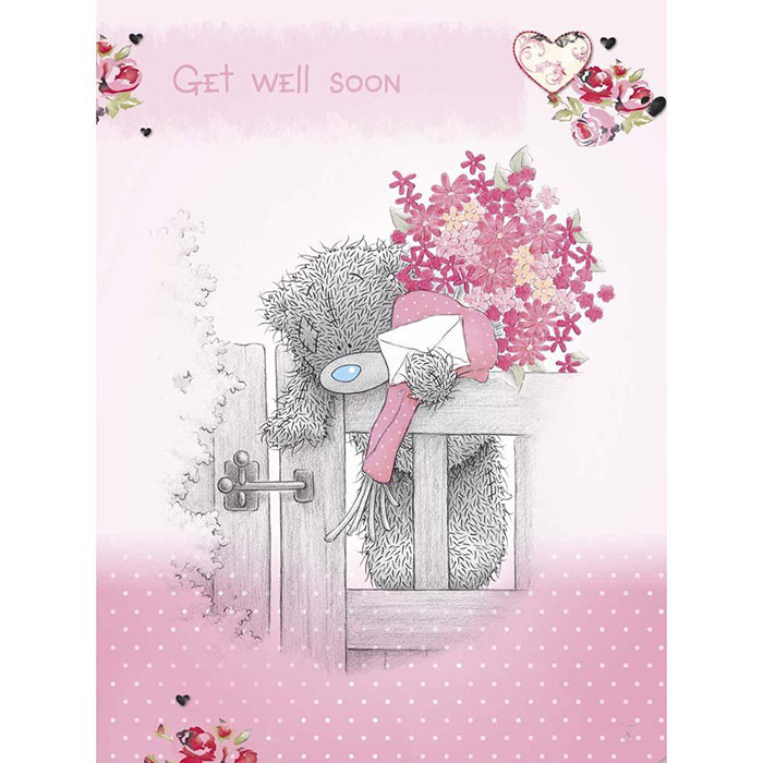 Get Well Soon Me To You Bear Card A01LS055 Me To You