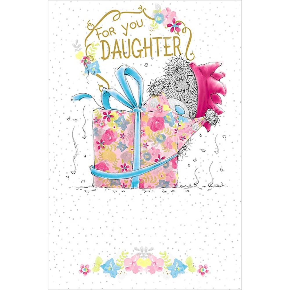 Daughter Birthday Me To You Bear Card A01MN126 Me To