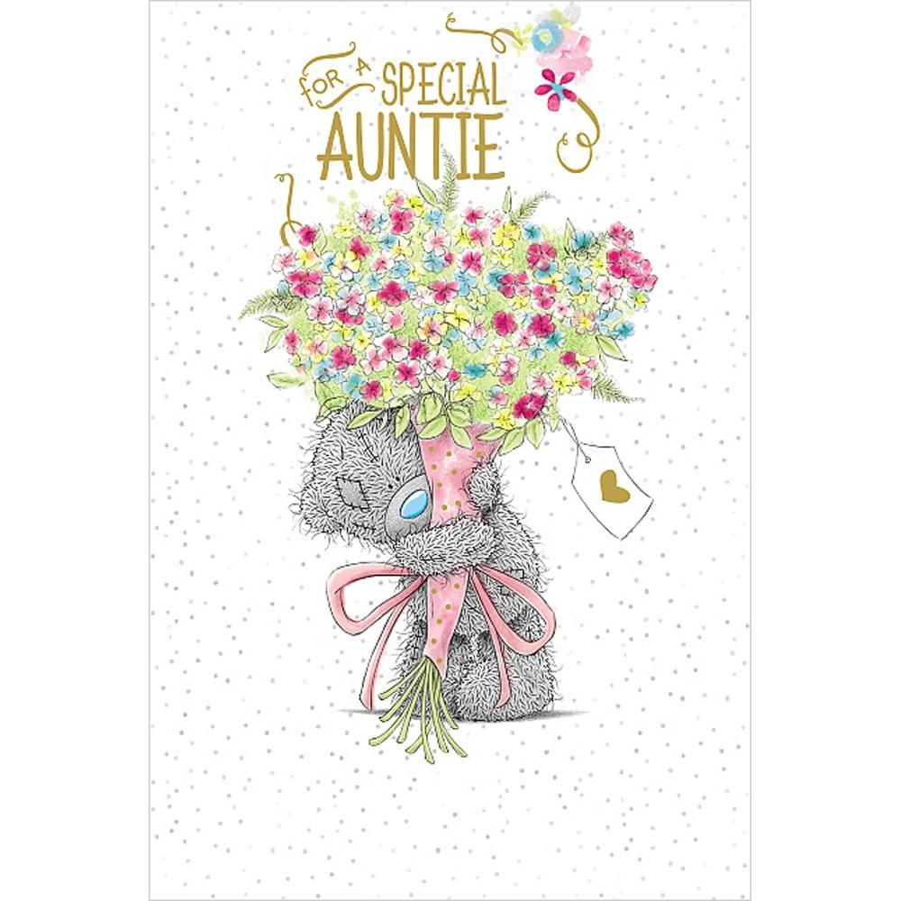Special Auntie Birthday Me To You Bear Card A01MS340