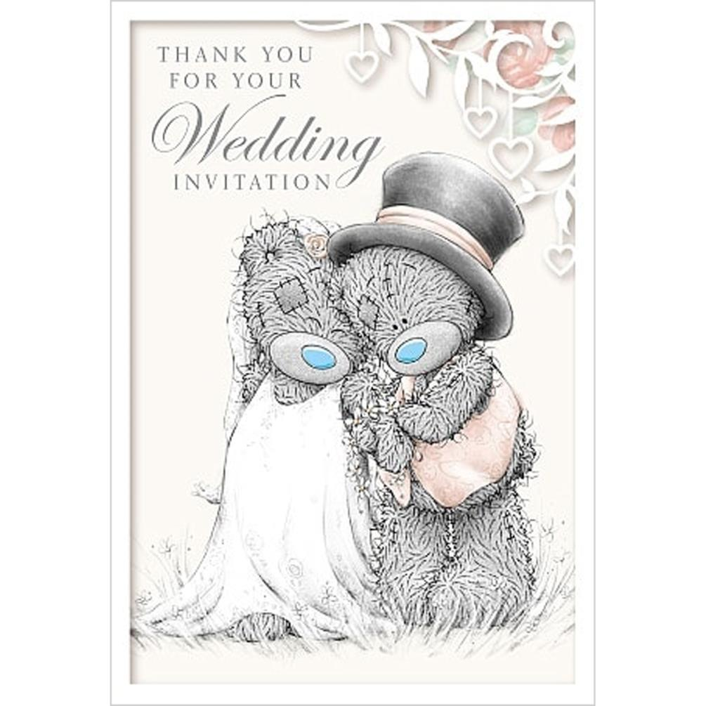 Wedding Invitation Me to You Bear Card (A01PS022) : Me to