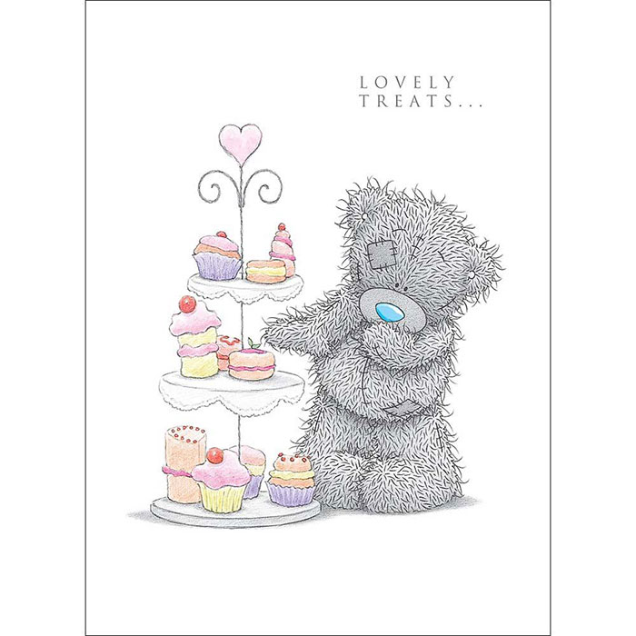 Tatty Teddy With Cakes Me to You Bear Birthday Card