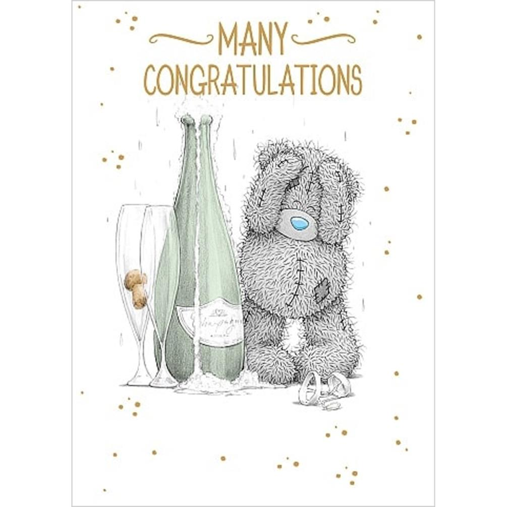 Many Congratulations Me To You Bear Card A01SS535 Me